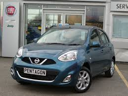 nissan jeep 2016 2016 65 nissan micra 1 2 acenta 5dr inc sat nav in blue youtube