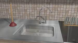 Drano Kitchen Sink by 3 Ways To Unclog A Kitchen Sink Wikihow