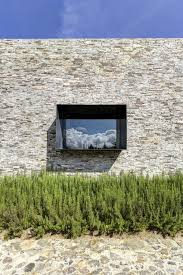 Modernday Houses by Modern Day Hacienda With Stone Walls
