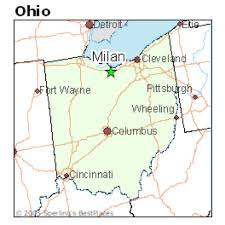 Toledo Ohio Map Thomas Edison By Tianna Dladstone