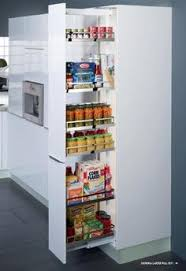 smart space saver for the kitchen pull out pantry cabinet has