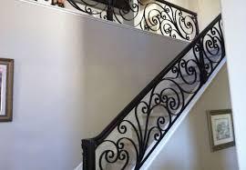 iron staircase railing orange county ca ornamental iron