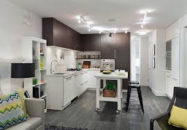 mobile kitchen island ideas kitchens tiny kitchen with l shaped white counter and small