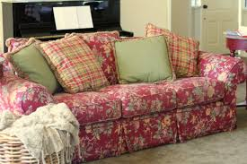 Country Sofa Slipcovers by Custom Slipcovers By Shelley Country Family Room Slipcovers