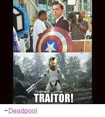 Meme Marvel - i g marvel memes traitor deadpool meme on sizzle