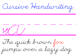 learning block letters and cursive handwriting for the d u0027nealian