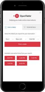 open table reservation system opentable for restaurant groups enterprise