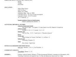 resume for college applications college application resume format nfgaccountability com