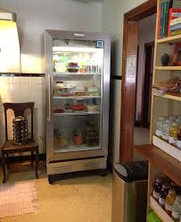 a glass door refrigerator for a change of pace kathy u0027s