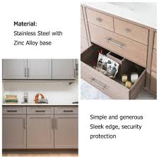 modern stainless steel kitchen cabinet pulls homdiy kitchen cabinet pulls knobs modern cabinet handles
