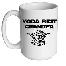 yoda best grandpa mug