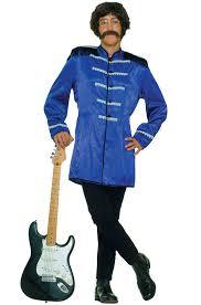 british halloween costumes amazon com u0027s blue sgt pepper beatles costume jacket