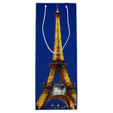 eiffel tower gift bags zazzle