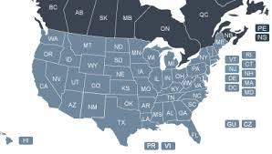 map of united states canada beta theta pi overall listing