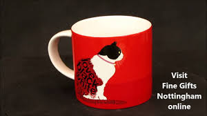 Designer Coffee Mug Online by Cat Sitting Ceramic Mug Wild About Words Collection Designer