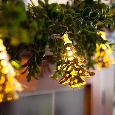 led christmas lights battery solar plug in string lights