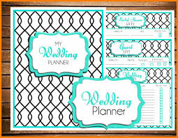 printable wedding planner 11 free printable wedding planner templates hostess resume