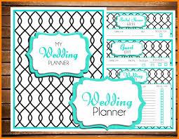 11 free printable wedding planner templates hostess resume