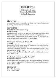 Library Resume Sample by Example Of Chef Archivist Resume Http Exampleresumecv Org