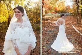 turmec lace long sleeve wedding dress open back