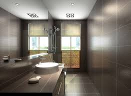 cosy brown bathroom floor tile with latest home interior