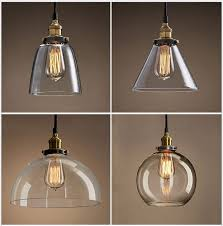 Pendant Light With Shade Pendant Light Glass Shade Dining Room Gregorsnell Blue Within