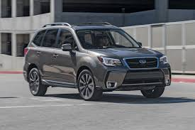 orange subaru forester 2017 subaru forester 2 0xt touring first test review