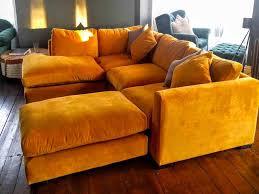 Yellow Sofa Bed Sofas Bespoke British And Handmade Sofas U0026 Stuff