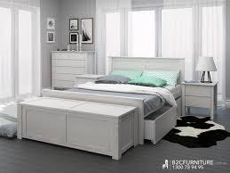 Rustic Bedroom Furniture Suites Blanket Box Storage Box Whitewash B2c Furniture
