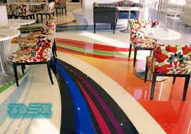 should we install 3d epoxy flooring in restaurants shops or hotels