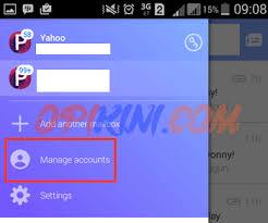 membuat yahoo mail via hp dua cara sign out atau keluar dari yahoo mail di android