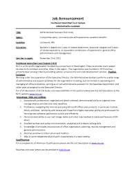 Medical Office Assistant Job Description For Resume by Administrative Assistant Responsibilities Template