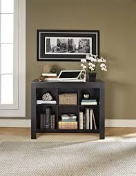 ameriwood furniture parsons desk with cubbies black