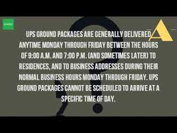 how late in the day does ups deliver