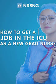 Icu Resume How To Get A Job In The Icu As A New Grad Nurse No Fail Resume