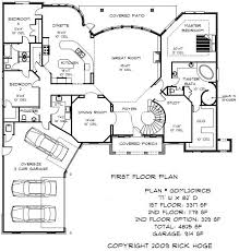 custom house blueprints 5000 square foot house ideas the architectural