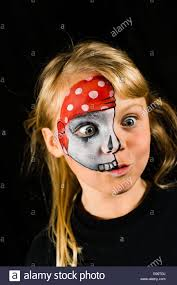 painted horror faces stock photo royalty free image 6512191 alamy