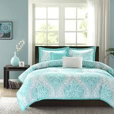 Turquoise Bedding Sets King Turquoise Brown King Comforter Sets Ruffle Set Chevron