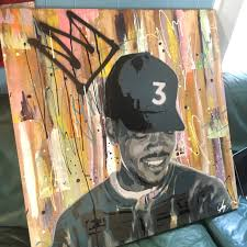 chance the rapper coloring book painting 36