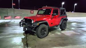 jeep matte red red chrome jeep willys vinyl wrapped by ckwraps youtube