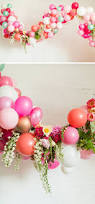 balloon arch with flowers boho botanical bridal shower rustic