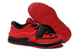 s basketball boots australia cheap kid s nike kd 7 basketball shoes bright crimson black