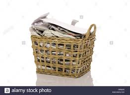 wastepaper basket stock photo royalty free image 103264257 alamy