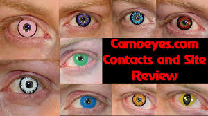 camoeyes com colored contacts and site review youtube