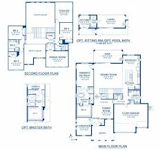 gasparilla a new home floor plan at la collina 70 u0027s by homes by