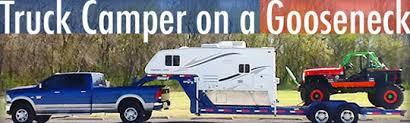 Truck Bed Trailer Camper Truck Camper On A Gooseneck Truck Camper Magazine