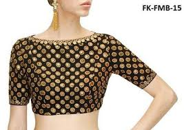 embroidered blouses black embroidered blouse at rs 450 embroidered blouses