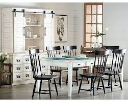 Farm House Dining Chairs Farmhouse Dining With Black Spindle Chairs Magnolia Home
