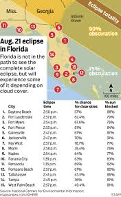 New Smyrna Beach Florida Map by The Best Places To Watch The 2017 Solar Eclipse