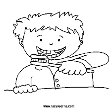 Teeth Coloring Page Getcoloringpages Com Brushing Teeth Coloring Pages